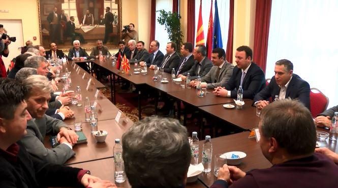Средба на партиите од коалицијата на ВМРО ДПМНЕ