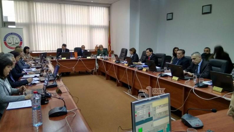 Караџовски ги избрка медиумите  не сака јавност во Судскиот совет