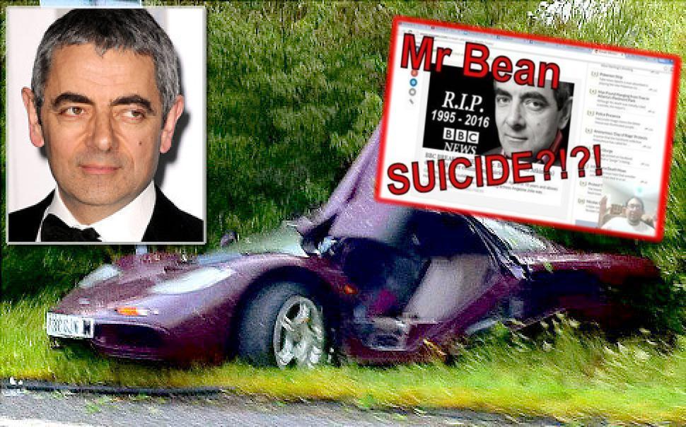 Се самоуби Мистер Бин   Веста која го запали Интернетот