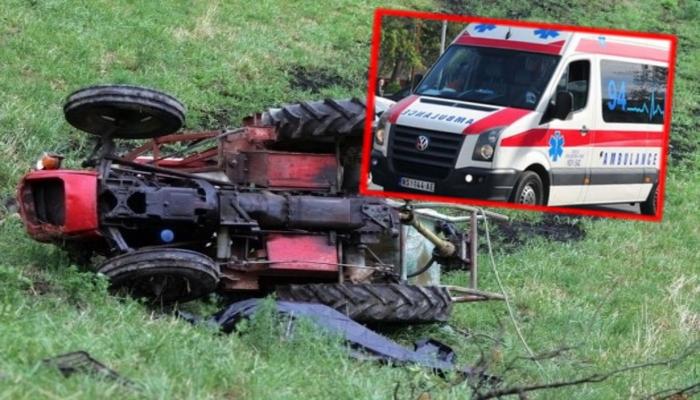 Заврши под тракторот   Страшна трагедија го потресе Куманово