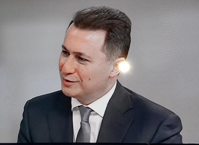 Груевски  За странците Македонија е непланирано вонбрачно дете