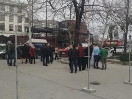 Советот Општина Центар ја стопираше изградбата на улица на кејот на Вардар