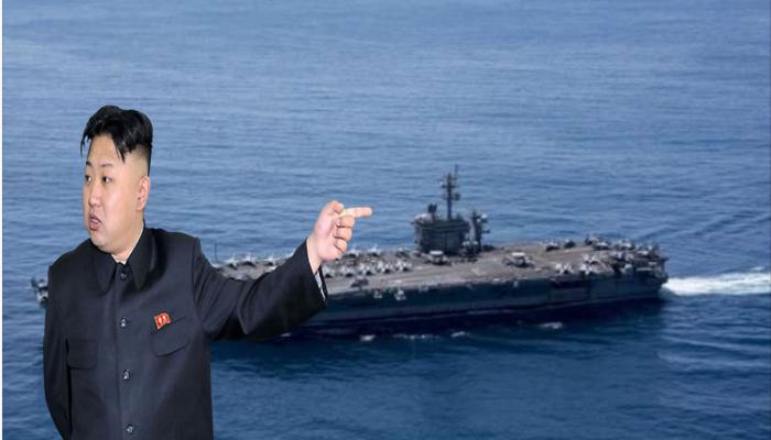 Станува жешко  Американска флота сепак сврте кон Корејскиот полуостров