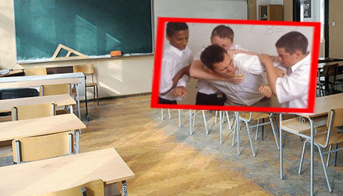Ученик нападнал наставник во училиште во Симница