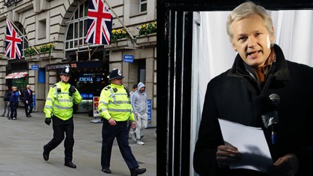 ВO ЖИВО  ЌЕ ГО УАПСИМЕ АСАНЖ ШТОМ ЌЕ ИЗЛЕЗЕ   Падна првата закана за Викиликс