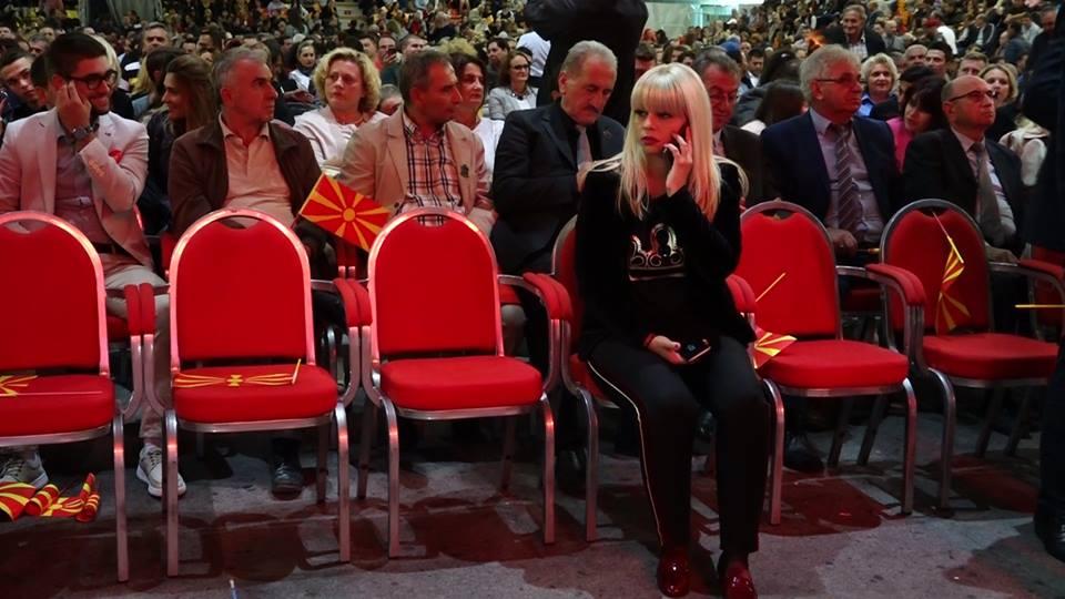 Рангелова со лаковани чевли ја започна новата ера на ВМРО