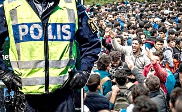 По бегалската криза  криминалот во Шведска достигнал рекордно ниво