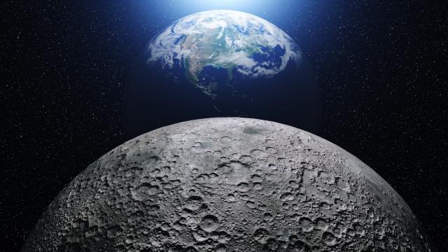 НАСА на Месечината пронајде мрежа од тунели